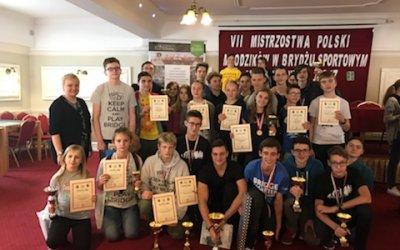 Mistrzostwa Polski Młodzików 2017 w brydżu sportowym w Starachowicach
