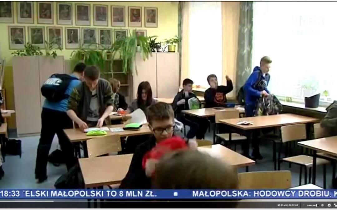 Nasza szkoła w Kronice Krakowskiej