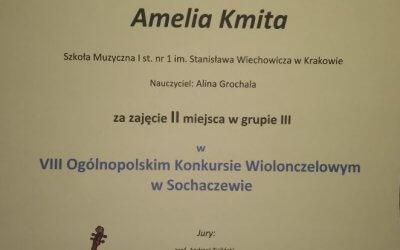 Kolejne sukcesy Amelii